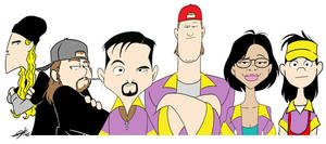 Clerks II Tribute by JayFosgitt