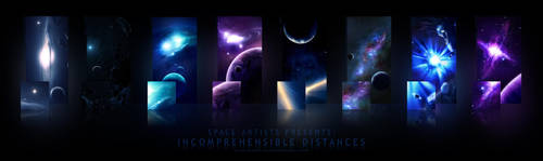 Incomprehensible Distances by Space-Artists