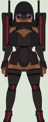 Lady black Full gear by IgorKutuzov