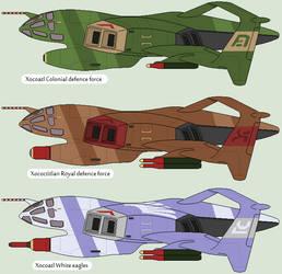Actlaan heavy fighter-bomber by IgorKutuzov