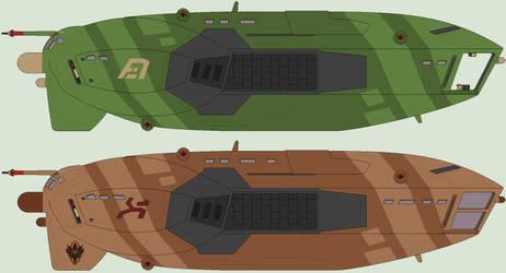 Garaka Class transport by IgorKutuzov