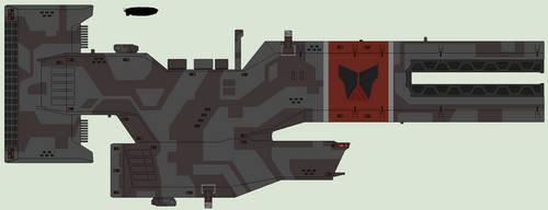 Nakoval'nya class Assault cruiser by IgorKutuzov