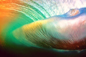 Behind the wave - a colorful vortex... by gokenji