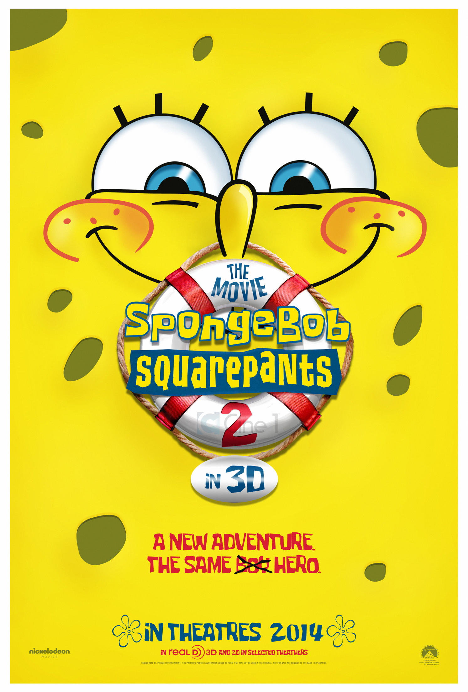 SpongeBob Squarepants The Movie 2 - Teaser Poster by jphomeentertainment