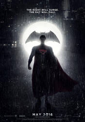 Poster provisional de BATMAN VS SUPERMAN (2016) by jphomeentertainment