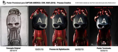 CAPTAIN AMERICA: CIVIL WAR (2016) - Proceso by jphomeentertainment