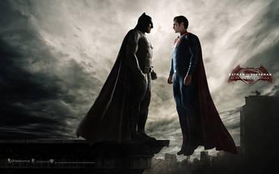 Wallpaper latino BATMAN V SUPERMAN by jphomeentertainment