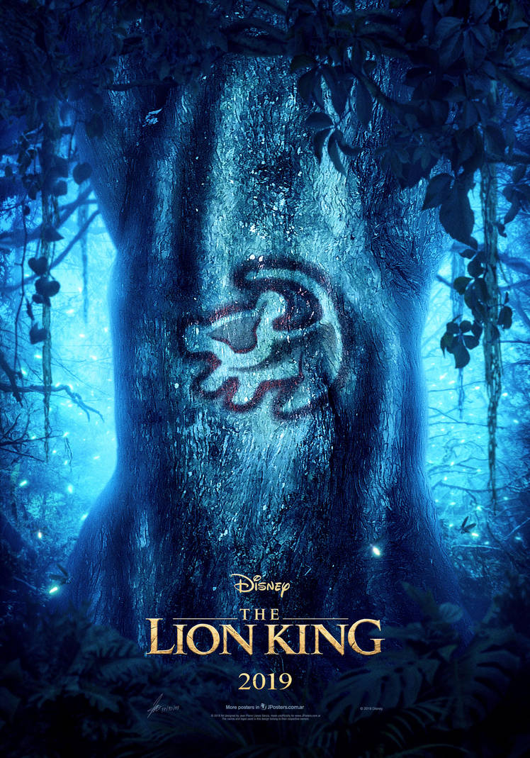 Teaser Poster Provisional de THE LION KING (2019) by jphomeentertainment