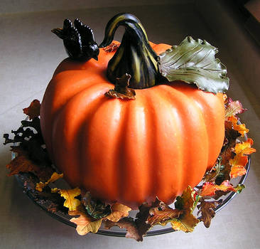Pumpkin Cake by DancesWithWacom