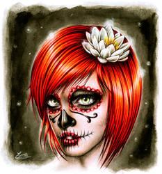 Miss Skull by EnysGuerrero