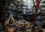 Ghostly Tents by EnysGuerrero