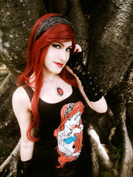 Gothic Princess Ariel by EnysGuerrero