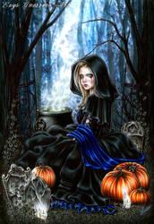 A Samhain Night by EnysGuerrero