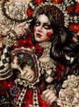 Queen of Wands by EnysGuerrero