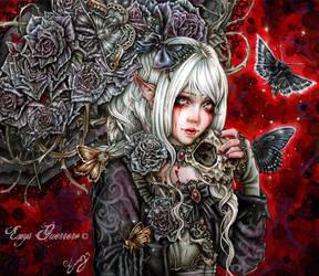 Dark Elf by EnysGuerrero