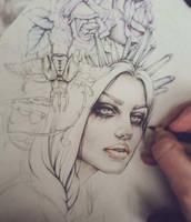 My Wild Feelings Sketch by EnysGuerrero