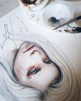Despertar Coloring Process by EnysGuerrero