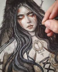 Reila Coloring Process by EnysGuerrero
