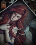 Princess Ariel WIP by EnysGuerrero