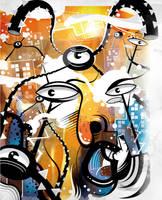 Invasion Tarantulas Ciclope by Helbetico