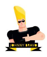 Johnny Bravo by Helbetico