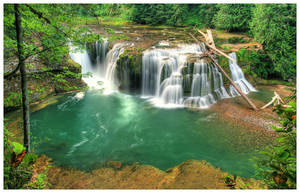::: Lower Lewis Falls ::: by La-Vita-a-Bella