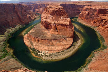 Horseshoe Bend by La-Vita-a-Bella