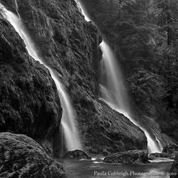 Boulder River Falls by La-Vita-a-Bella