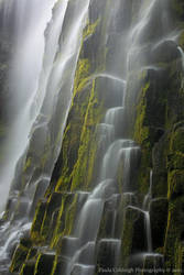 Waterfall - Mossy Cascades by La-Vita-a-Bella
