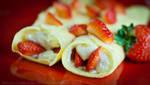 Strawberry Crepes by La-Vita-a-Bella