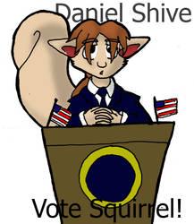 Vote Squirrel by DaffydWagstaff