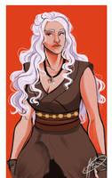 Daenerys by naomimakesart