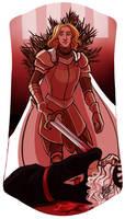 Kingslayer by naomimakesart