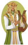 Finrod Felagund by naomimakesart