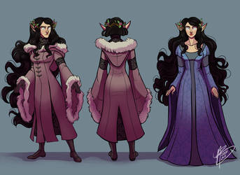 Luthien Concepts by naomimakesart