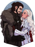 Winter is Here by naomimakesart