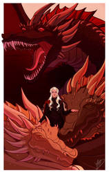 Favorites Countdown: Daenerys Targaryen by naomimakesart