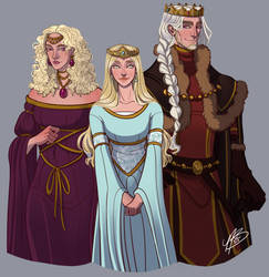 The Dragon Has Three Heads 2.0 by naomimakesart