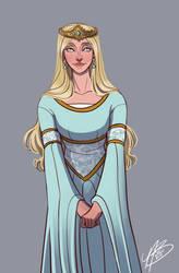 Alysanne Targaryen by naomimakesart