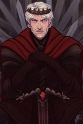 Maegor the Cruel by naomimakesart