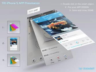 TRI iPhone 5 APP Presntation by khaledzz9