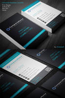 Corporate Business Card 001 by khaledzz9