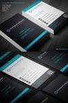 Corporate Business Card 001 by khaledzz9