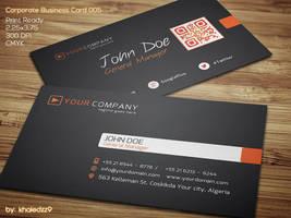 Corporate Business Card 005 by khaledzz9
