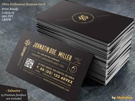 Ultra Profesional Business Card by khaledzz9