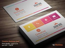 Creative Business Card by khaledzz9