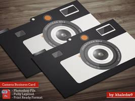 Camera Business Card by khaledzz9