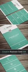 Creative Business Card 006 by khaledzz9