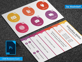I AM Business Card by khaledzz9