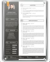 Simple Resume 3 by khaledzz9